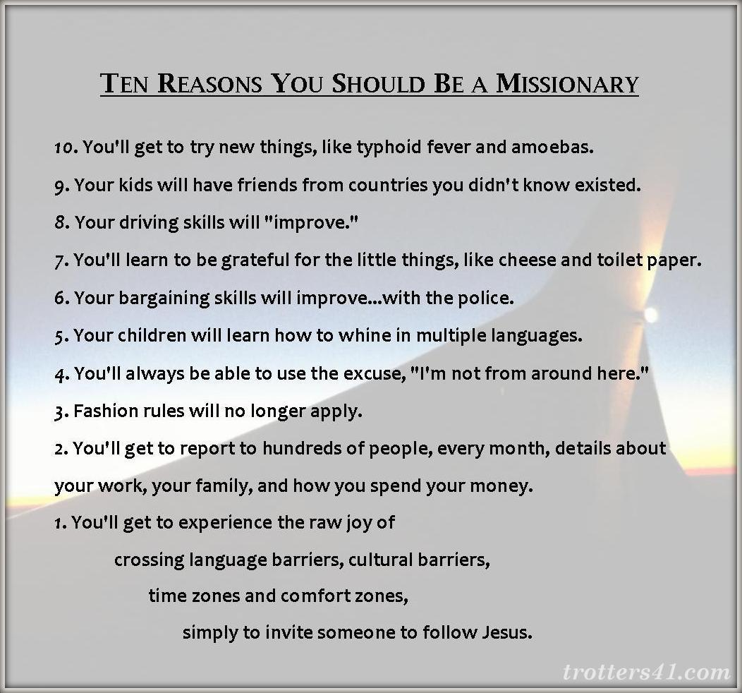 ten-reasons-you-should-be-a-missionary
